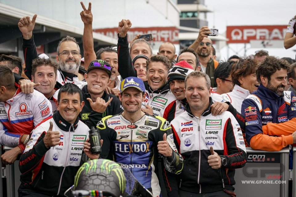 """MotoGP: """"Crutchlow? He's costing me a million in falls a year, but I love him."""""""