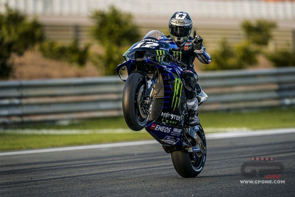 """MotoGP: Vinales: """"In the Sepang tests a device for the start on the M1"""""""