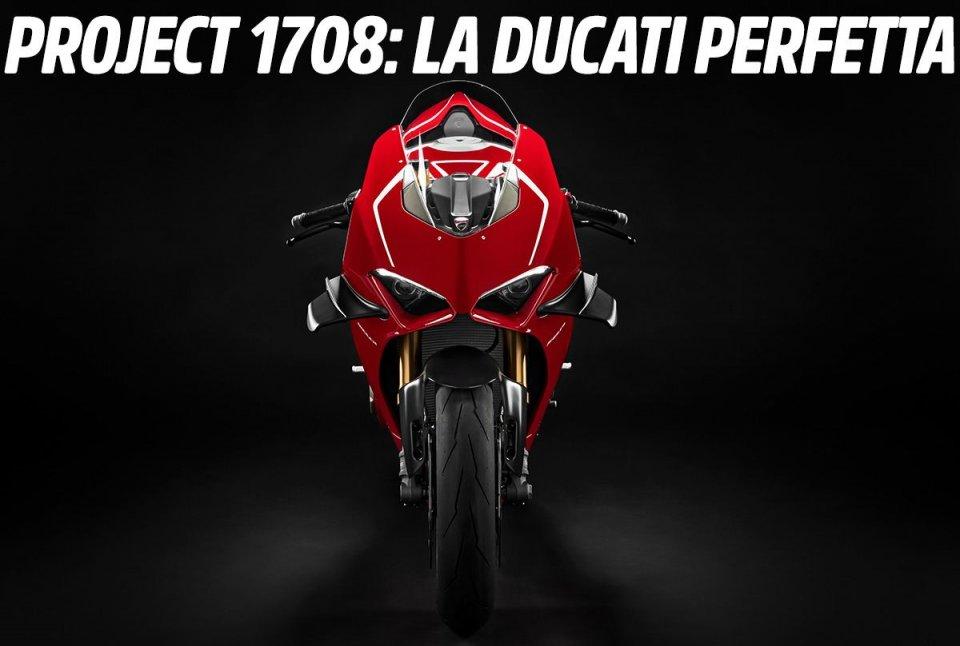 Moto - News: ESCLUSIVO, Ducati 'Project 1708': vi sveliamo la bomba V4