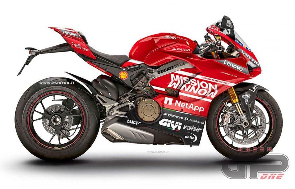 Moto - News: Ducati Project 1708, una scheda tecnica da infarto: 234 cv e 152 kg