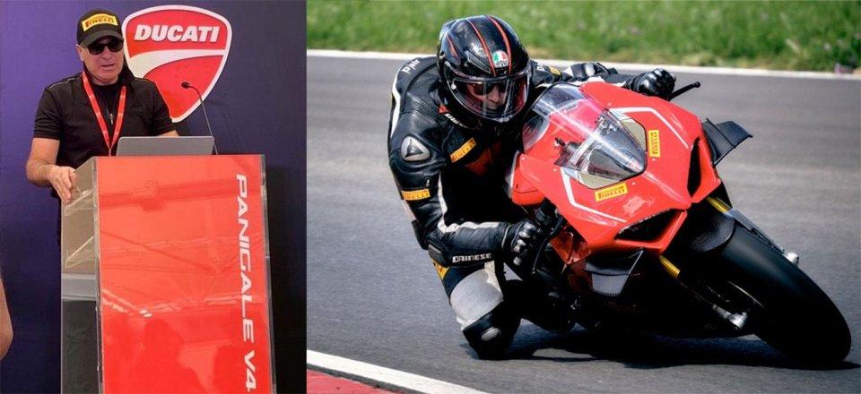 "Moto - News: Pennisi, Pirelli: ""Panigale V4? Gomme da SBK per gestire i 224 cv"""
