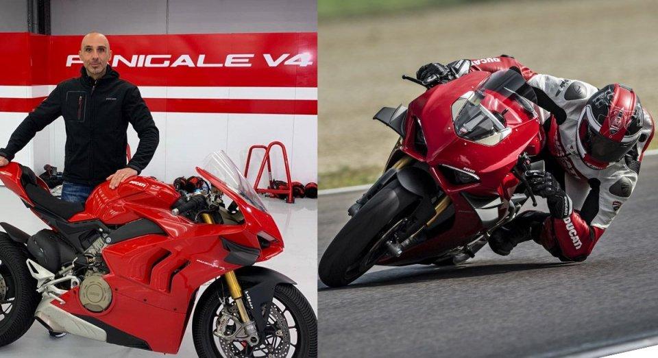 """Moto - News: Valia, Ducati: """"Lo sviluppo della V4? Mi sono immedesimato nel cliente"""""""