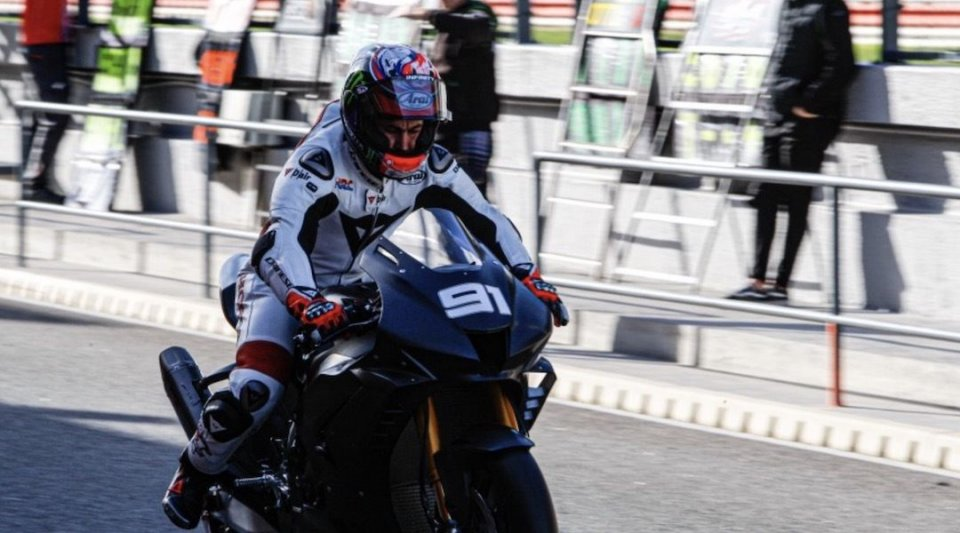 """SBK: Haslam: """"Bautista 21st? He also started off like this with Ducati last year."""""""