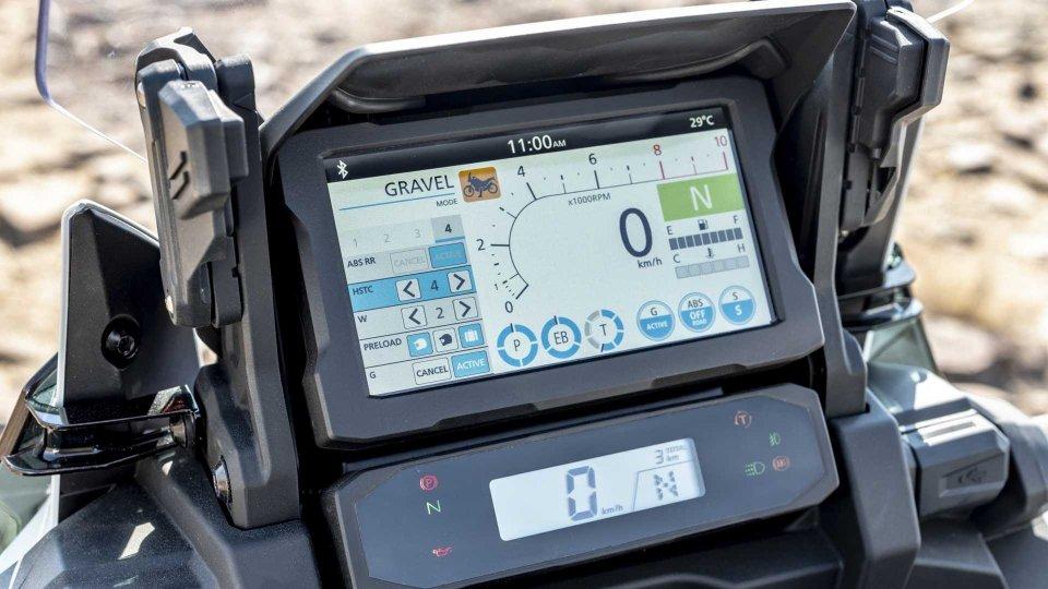 Moto - News: Honda Africa Twin, online il simulatore del display TFT