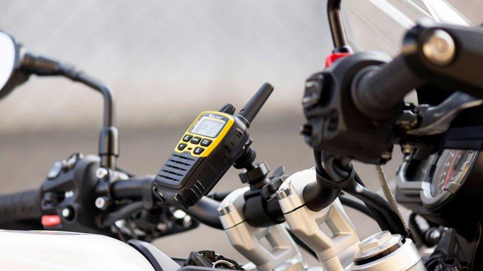 Moto - News: Midland XT70 Adventure: mai più isolati in moto