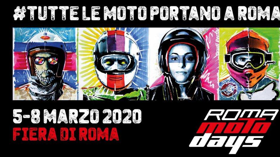 Moto - News: Coronavirus: Roma Motodays 2020 rimandato ad aprile