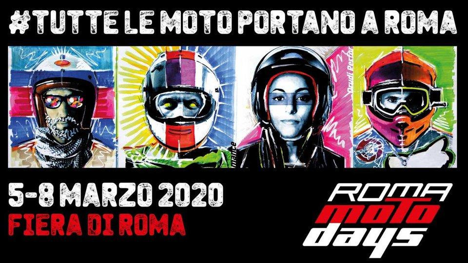 Moto - News: Roma Motodays, tutto pronto per l'edizione 2020
