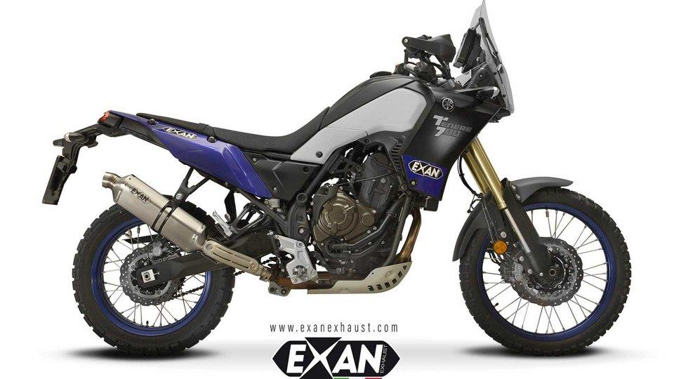 Moto - News: Exan, nuovi scarichi per la Yamaha Ténéré 700