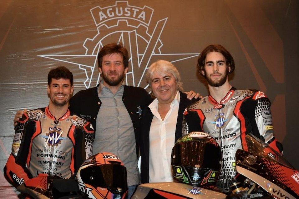 """Moto2: Giovanni Cuzari: """"Con MV Agusta mi rivedo in Enzo Ferrari"""""""