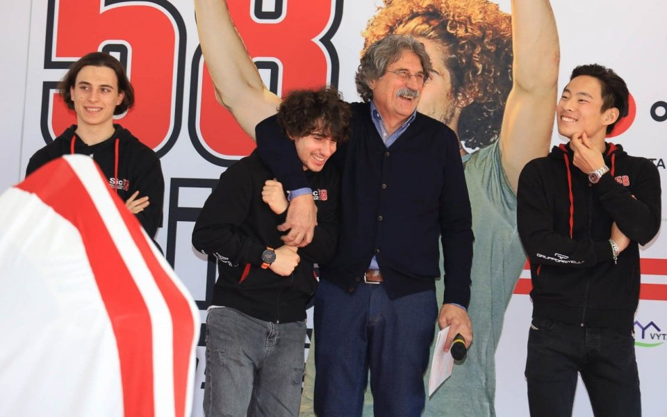 """Moto3: Simoncelli: """"My goal is to bring the team to the MotoGP."""""""