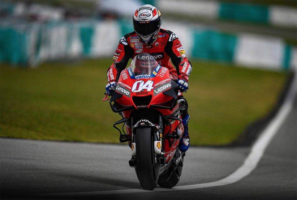 "MotoGP: Dovizioso: ""The new Michelins are an advantage for Yamaha and Suzuki."""
