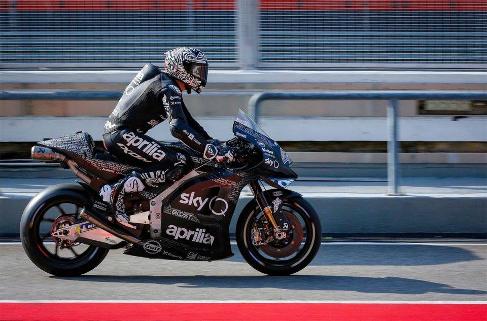 MotoGP: A.Espargarò: Ringrazio Aprilia e gli uomini di Noale. Una rivoluzione