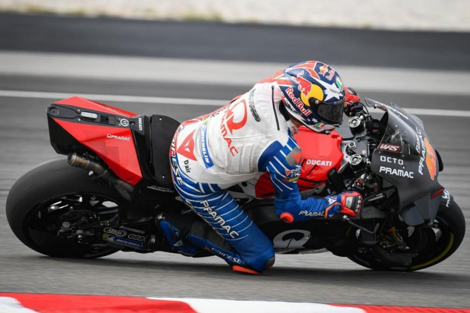 """MotoGP: Miller: """"Ducati has improved everywhere, but I risked falling."""""""