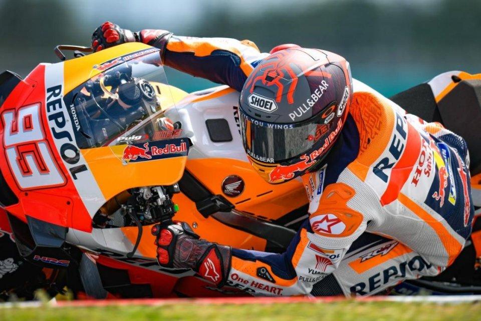 """MotoGP: Marquez: """"Puig mi ha chiesto se ero pronto a soffrire: ho risposto sì"""""""