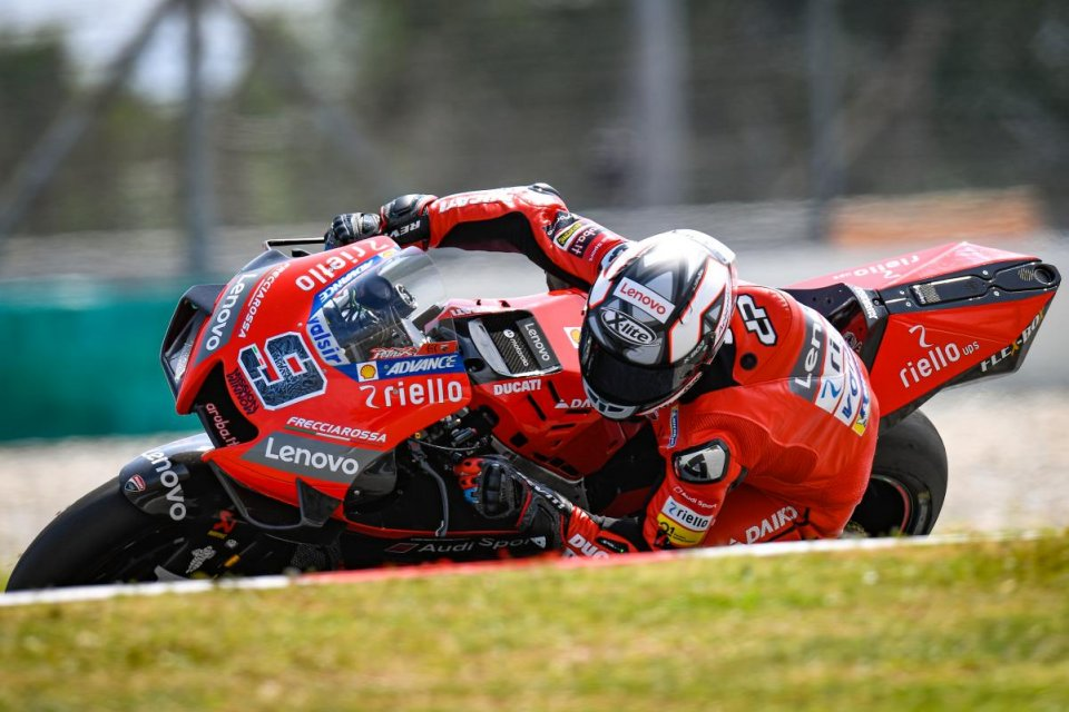"""MotoGP: Danilo Petrucci: """"Le nuove Michelin sembrano favorire le Yamaha"""""""