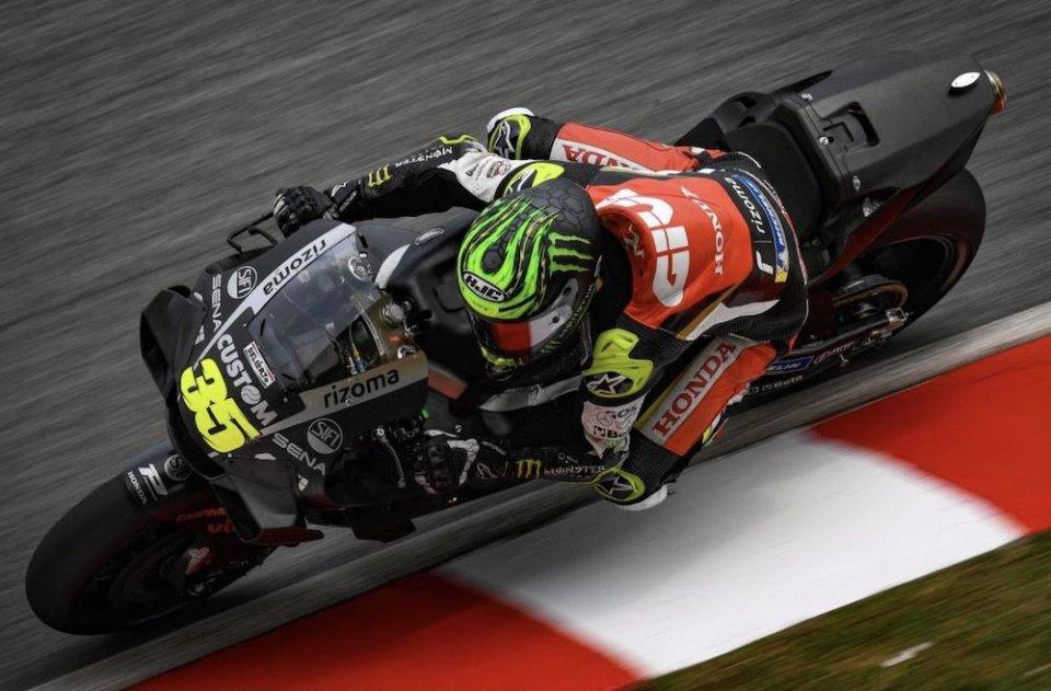 """MotoGP: Crutchlow: Vorrei tornare alla Honda 2018 con il motore 2020"""""""