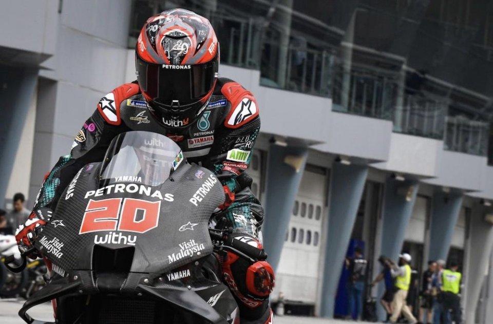 """MotoGP: Quartararo: """"Sono veloce sul giro secco, devo lavorare sul passo gara"""""""