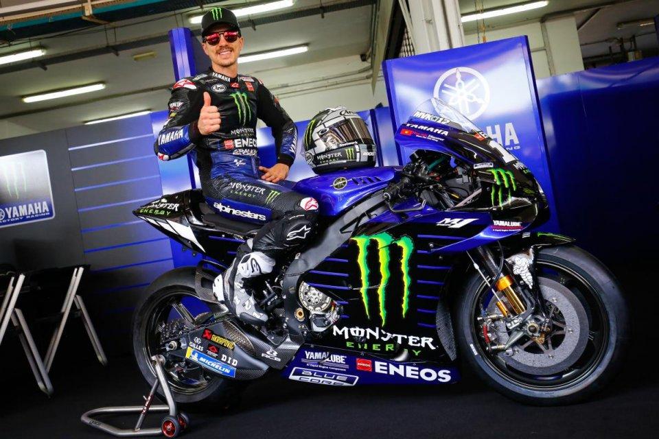 """MotoGP: Vinales: """"Mi sono chiarito con Yamaha per questo ho deciso di rimanere"""""""
