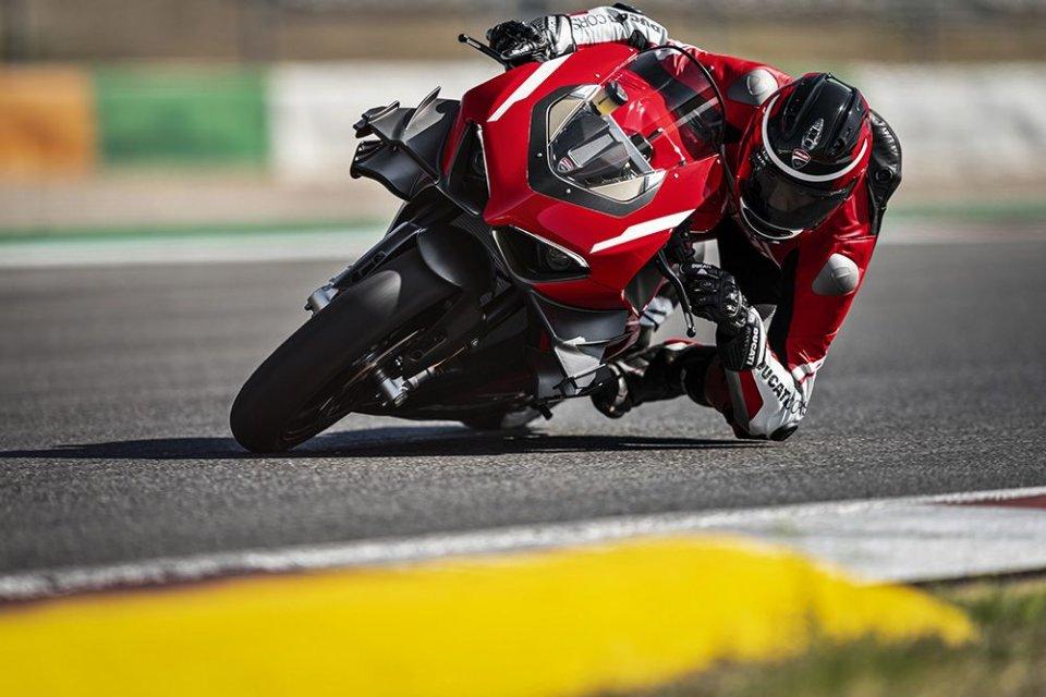 Moto - News: Ducati Panigale V4 Superleggera: la chiave per salire sulla GP20