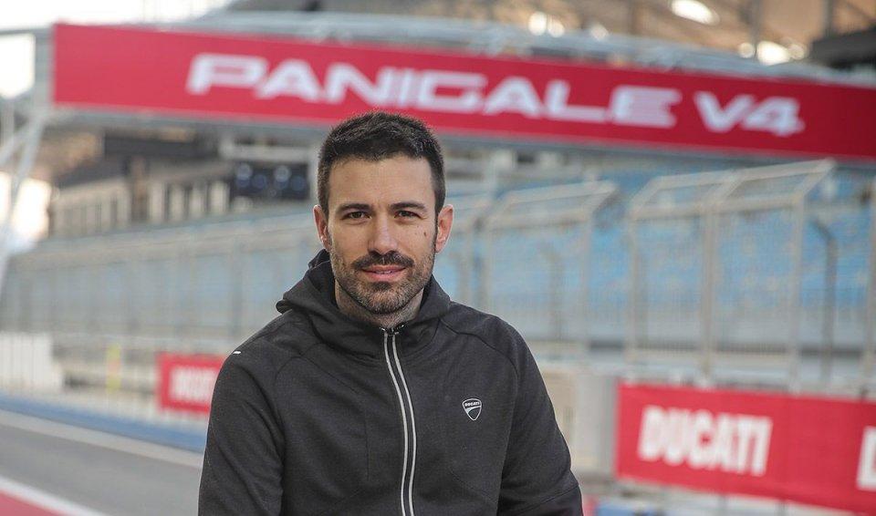 """Moto - News: Maccarini, Ducati: """"La Panigale V4? il pilota è il centro di tutto"""""""