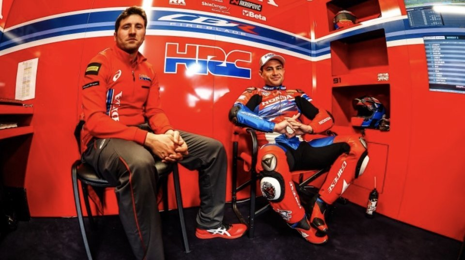 """SBK: Haslam: """"Bautista is a MotoGP rider, it's not easy to adapt to an inline four"""""""