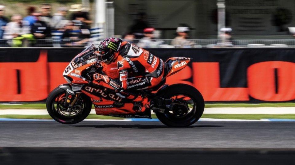 """SBK: Redding: """"I agree with Ezpeleta. The MotoGP is the top."""""""