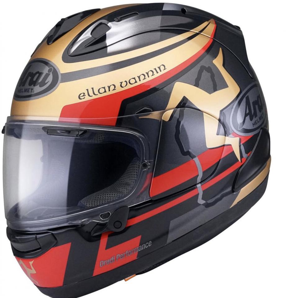 Moto - News: Arai RX-7V TT 2020: il casco del Tourist Trophy che non si correrà mai