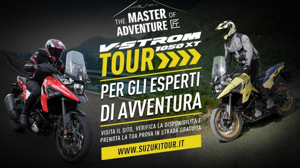 Moto - News: Suzuki: aperte le iscrizioni al V-Strom Tour 2020