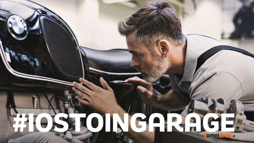 Moto - News: #iostoingarage: la manutenzione moto come anti-stress al Coronavirus