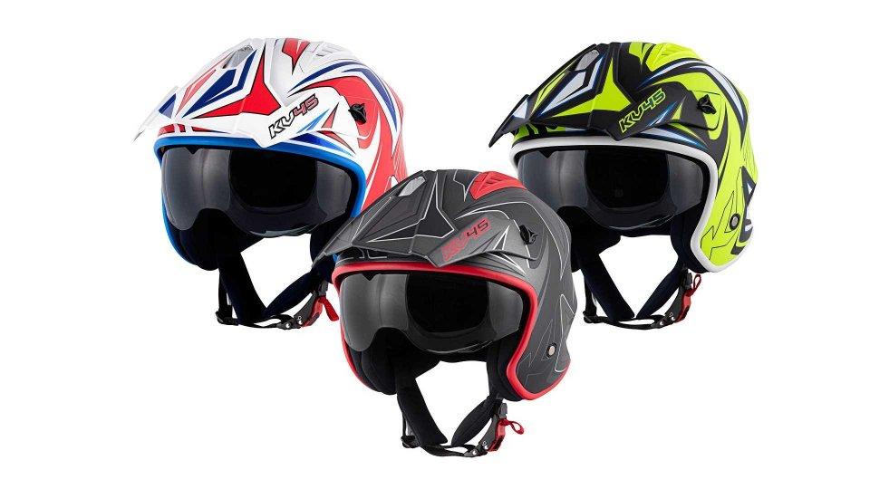 Moto - News: Kappa KV45 Trial, il casco per le nuove generazioni