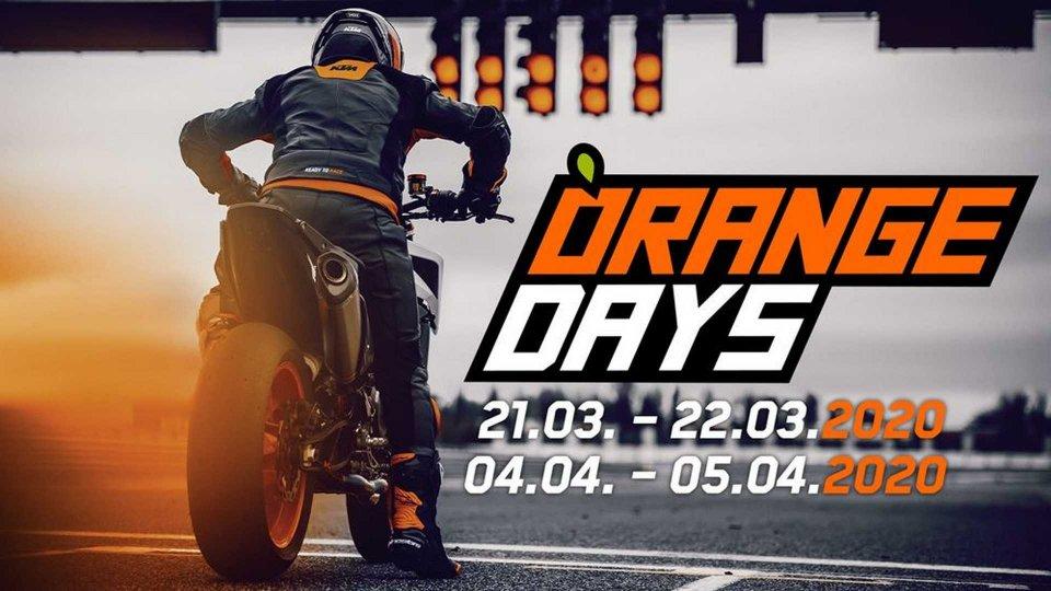 Moto - News: KTM Orange Days 2020: Duke e Adventure in prova dai concessionari
