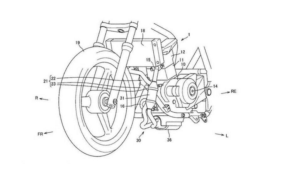 Moto - News: Suzuki: brevetto per un nuovo motore Euro5
