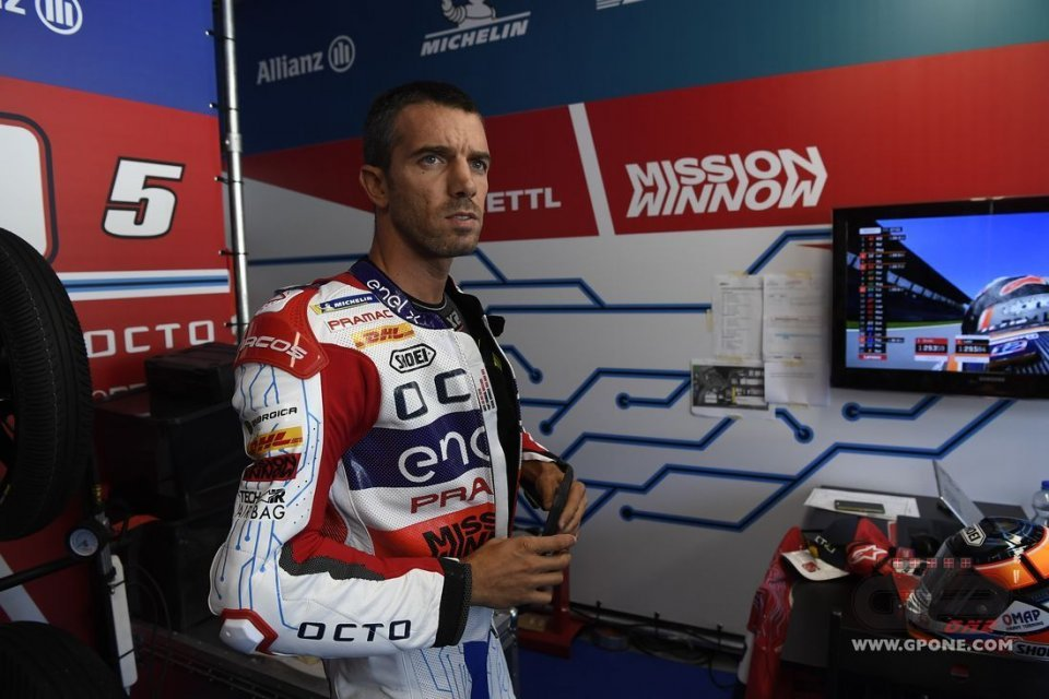 """MotoE: De Angelis: """"Carrying on with the tests is not respectful to Italians"""""""
