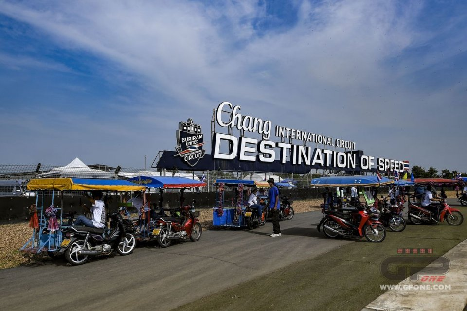 MotoGP: Coronavirus: Il Governo della Thailandia rinvia il GP di Buriram