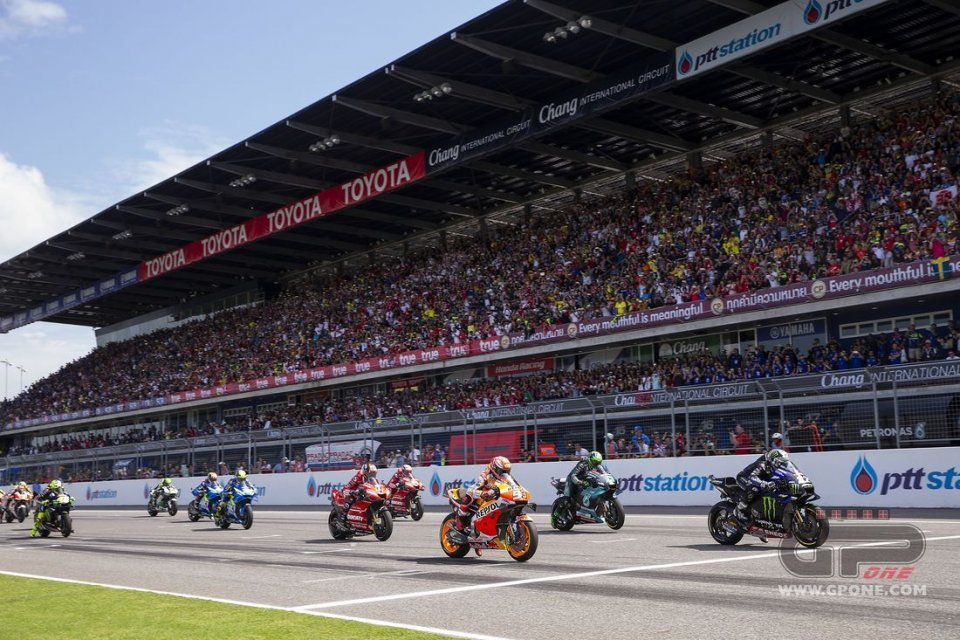 MotoGP: Il nuovo calendario della MotoGP: GP di Thailandia il 4 ottobre