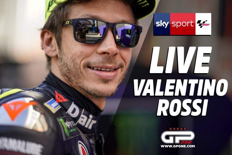 "MotoGP: Valentino Rossi: ""Lo sport doveva fermarsi, troppi soffrono"""