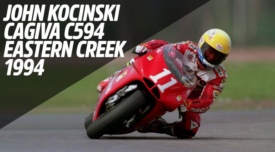 MotoGP: John Kocinski e l'ultima vittoria della Cagiva in 500 ad Eastern Creek