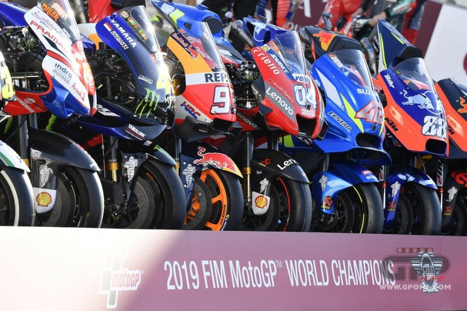 MotoGP: UFFICIALE. Motori e aerodinamica verranno omologati 'a distanza'