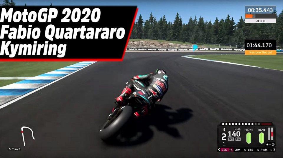 Playtime - Games: Alla scoperta del Kymiring con Fabio Quartararo e MotoGP 2020