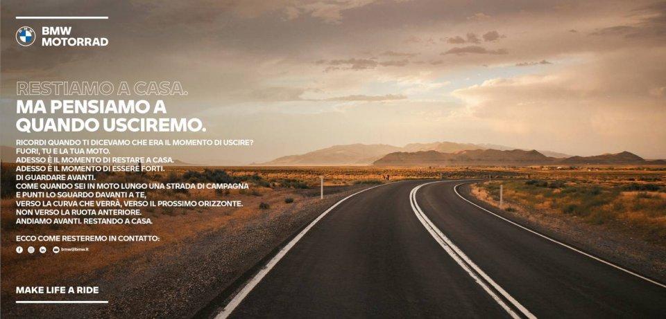 Moto - News: Coronavirus, BMW Motorrad regala 3 mesi di garanzia aggiuntiva