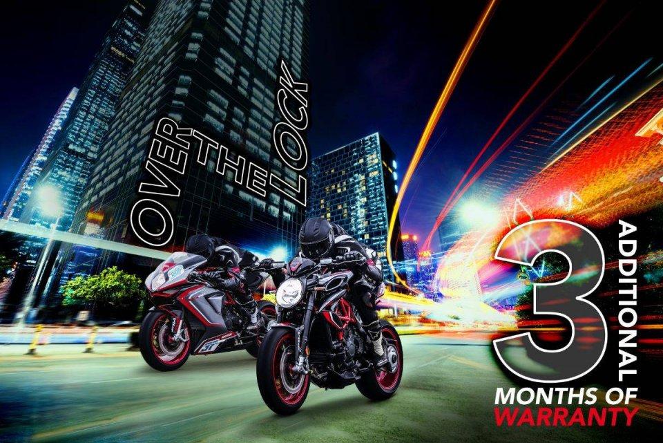 Moto - News: Coronavirus: estendono le garanzia anche Honda ed MV Agusta