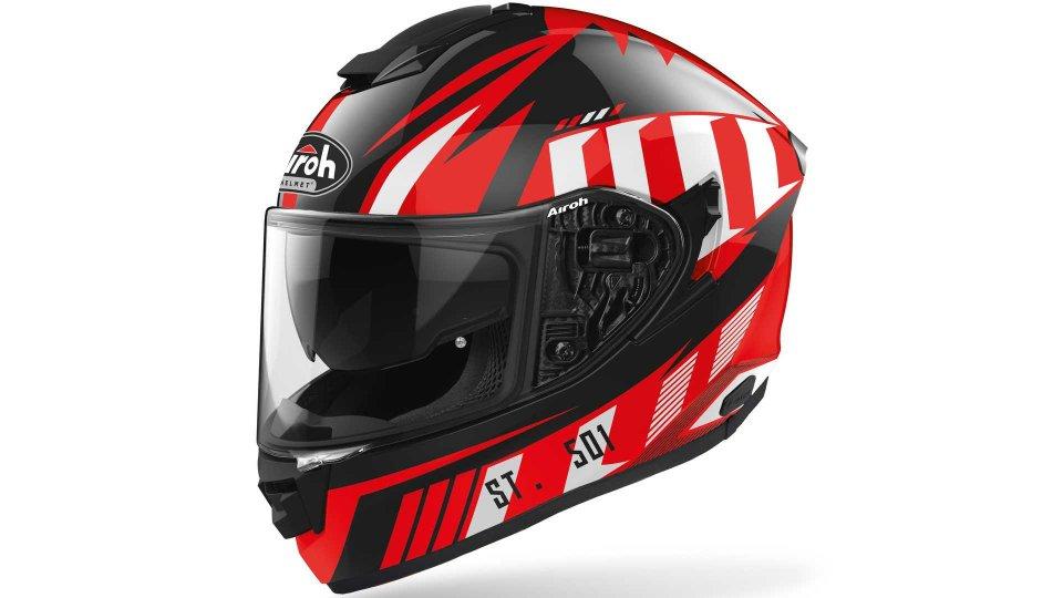 Moto - News: Airoh ST. 501: il casco integrale sport-touring