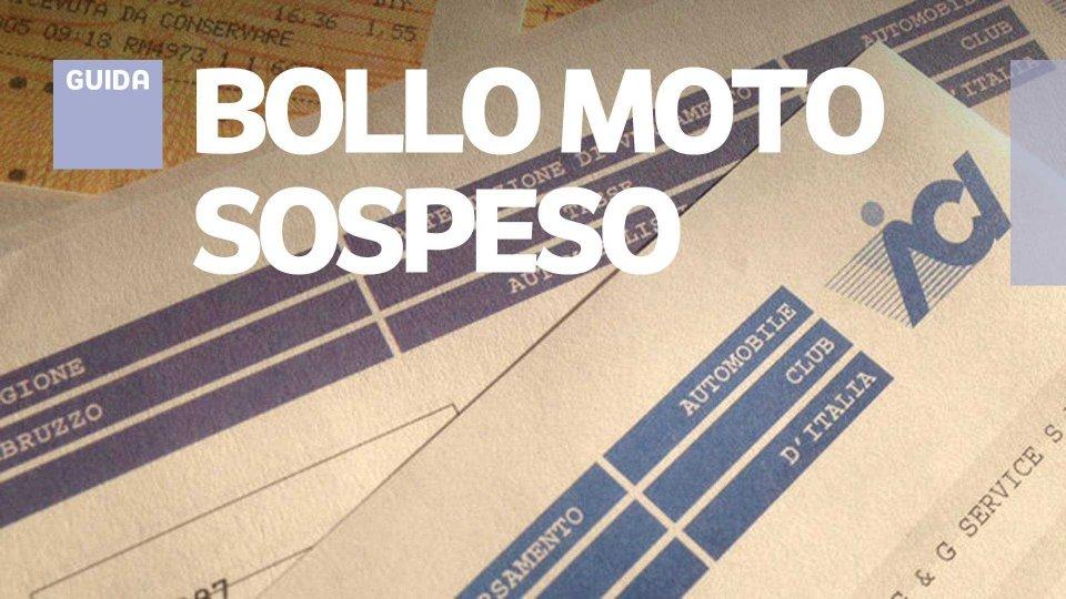 Moto - News: Bollo moto, sospensioni e proroghe Regione per Regione