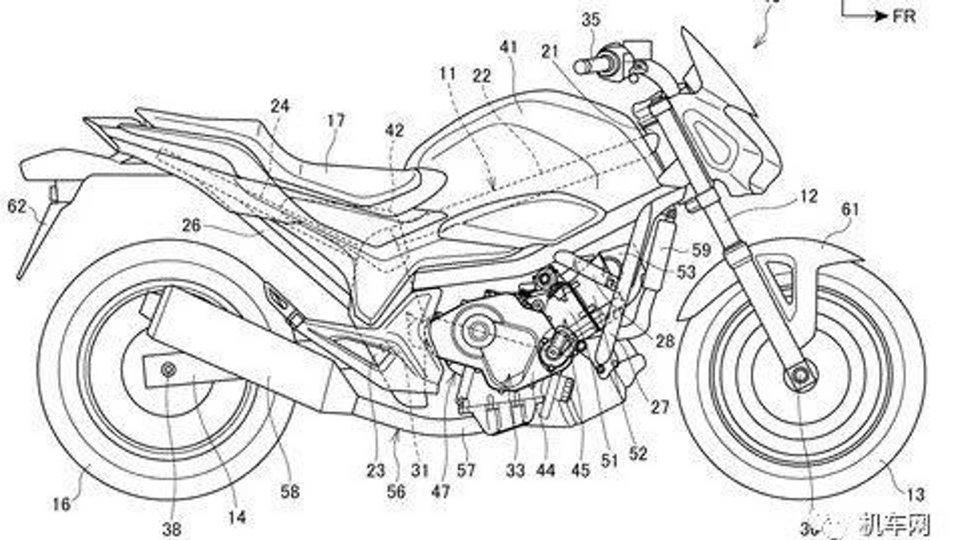 Moto - News: Honda, torna la NC 750 con un motore tutto nuovo