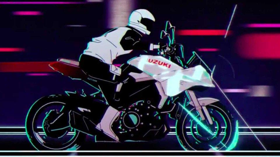 Moto - News: Suzuki Katana, l'icona raccontata in un cortometraggio animato [VIDEO]