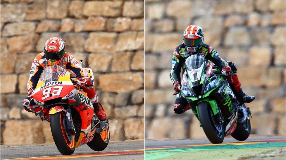 Moto - News: MotoGP vs Superbike, sfida virtuale tra Marquez e Rea a Jerez [VIDEO]