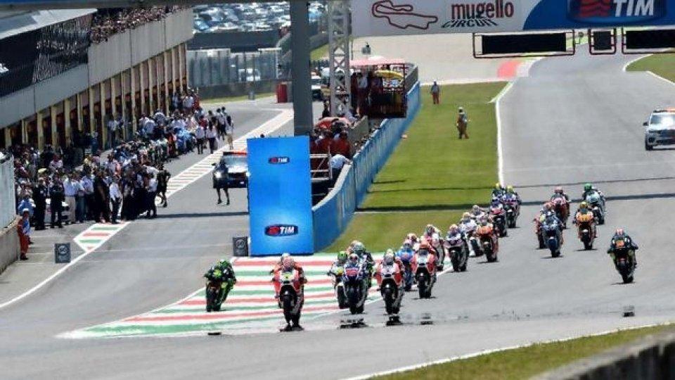Moto - News: MotoGP: salta il Mugello. Debutto stagionale al Sachsenring?