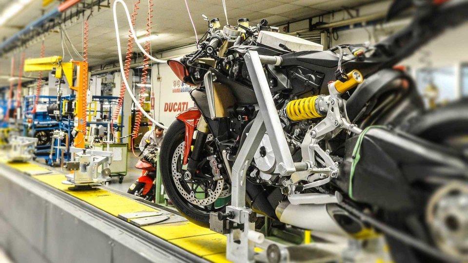 Moto - News: Ducati: la produzione riparte in maniera graduale