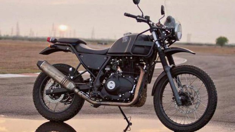 Moto - News: Royal Enfield Himalayan, dall'India la versione Euro 5