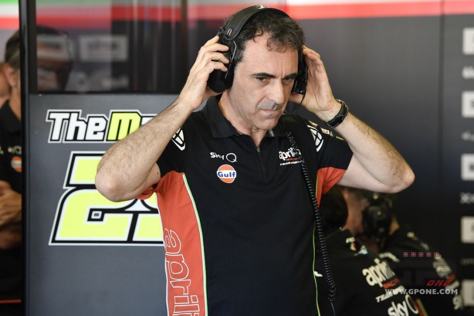 "MotoGP: Albesiano reveals: ""Aprilia will also have the variable set-up like Ducati"""